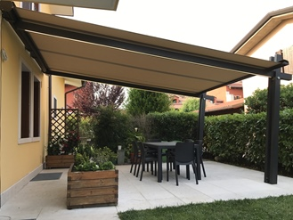 PERGOLA CASSONETTO PS CON BLOCK STAR SYSTEM